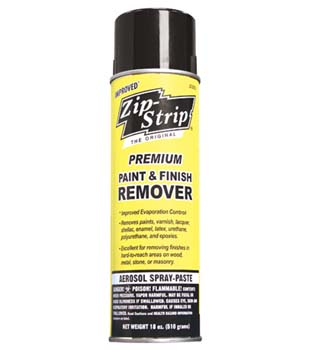 ZIP STRIP 272012 SPRAY PREMIUM PAINT AND FINISH REMOVER SIZE:SPRAY PACK:12 PCS.