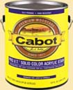 CABOT STAIN 50806 PRO V.T. NEUTRAL BASE SOLID ACRYLIC SIZE:5 GALLONS.