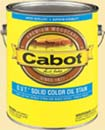 CABOT STAIN 56708 250 VOC COMPLIANT MEDIUM BASE O.V.T. SOLID OIL STAIN SIZE:5 GALLONS.