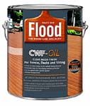 FLOOD FLD447 CWF OIL CLEAR 350 VOC SIZE:1 GALLON.