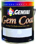 GEMINI 163-1 GEM COAT WATER CLEAR SATIN LACQUER SIZE:1 GALLON.