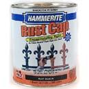 HAMMERITE 44235 FLAT BLACK SMOOTH FINISH SIZE:QUART