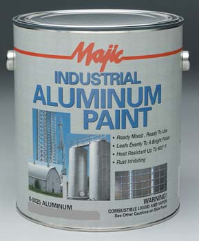 MAJIC 00251 8-0025 INDUSTRIAL ALUMINUM PAINT SIZE:1 GALLON.