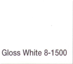 MAJIC 39004 8-1500 DIAMONDHARD ACRYLIC ENAMEL WHITE GLOSS SIZE:1/2 PINT.
