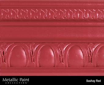 MODERN MASTERS METALLIC PAINT 99830 ME-513 SASHAY RED SIZE:1 GALLON.