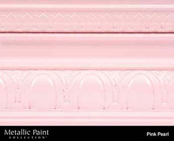 MODERN MASTERS ME709-GAL PINK PEARL METALLIC PAINT SIZE:1 GALLON.