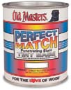 OLD MASTERS 52001 TINT BASE PERFECT MATCH PENETRATING STAIN SIZE:1 GALLON.