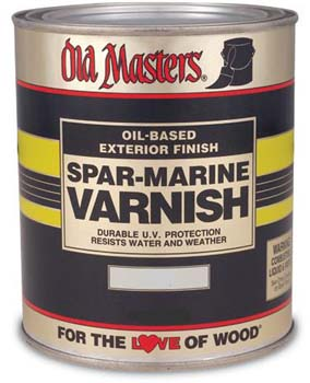 OLD MASTERS 92308 SATIN SPAR MARINE VARNISH SIZE:PINT.