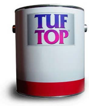 TUF TOP 99-011 LIGHT TINT BASE WT-113 2 COMPONENT WATER BASED EPOXY (SOLD AS A KIT) 1 GALLON.