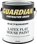 VALSPAR 555 GUARDIAN CONTRACTOR EXT LATEX FLAT HOUSE PAINT WHITE SIZE:1 GALLON.