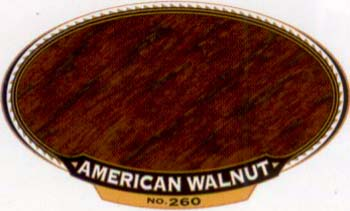 VARATHANE 12860 211804 AMERICAN WALNUT 260 OIL STAIN SIZE:1/2 PINT.