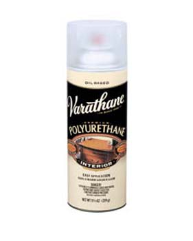 VARATHANE 00608 6081 SPRAY CLEAR SEMI GLOSS INTERIOR CLASSIC (OIL) SIZE:12 OZ. SPRAY.