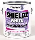 ZINSSER 02501 WATER BASE SHIELDZ WHITE SIZE:1 GALLON.